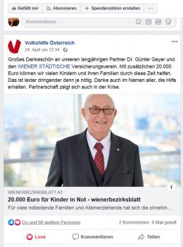 20.000 Euro für Kinder in Not